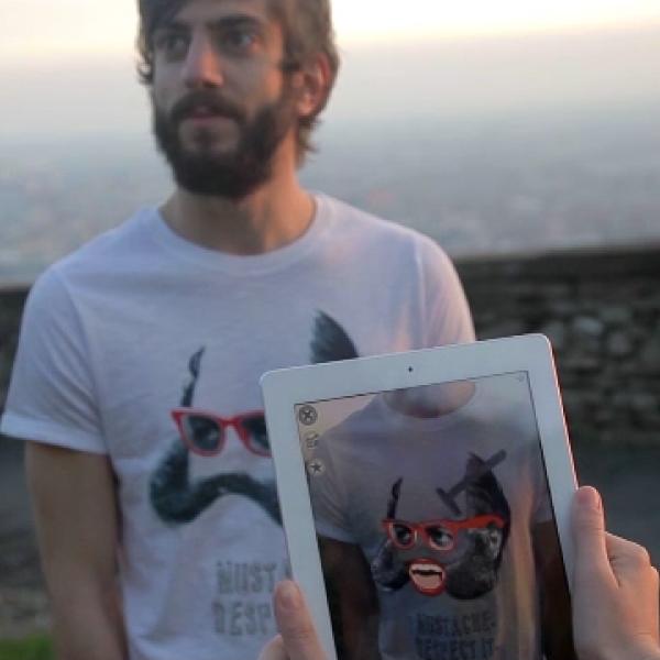 Zerogradi Design – Augmented Reality T-Shirts